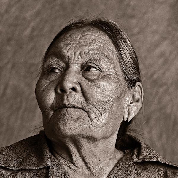 Navajo Portrait Elder woman 34