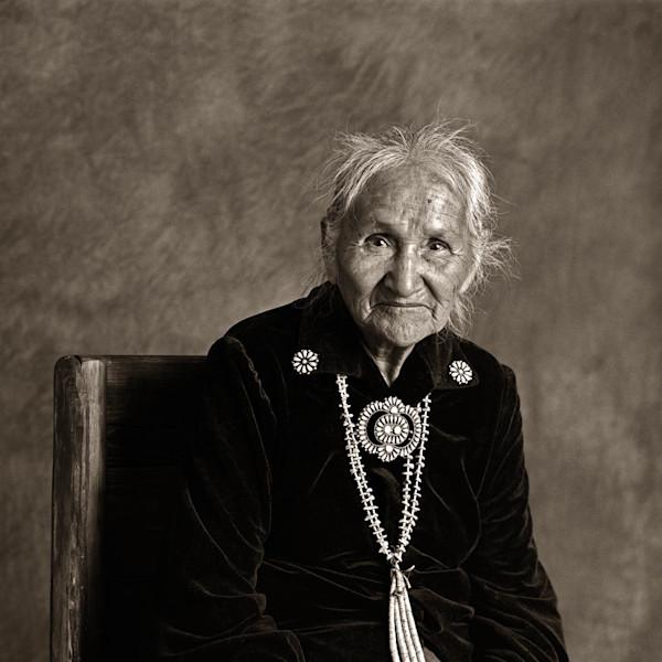Navajo Portrait  Annie Manycows
