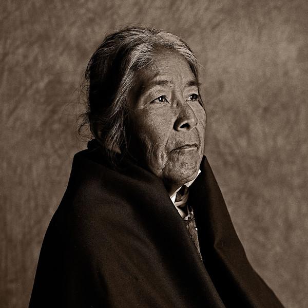 Navajo Portrait Shirley Chee