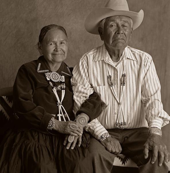 Navajo Portrait Couple