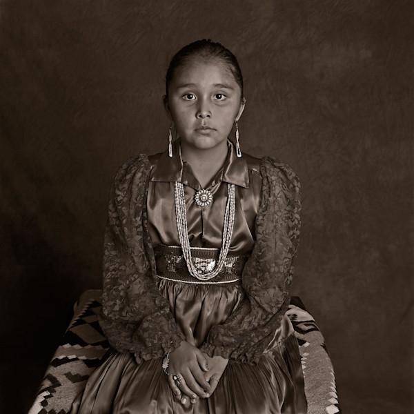 Navajo Portrait  Navajo Girl