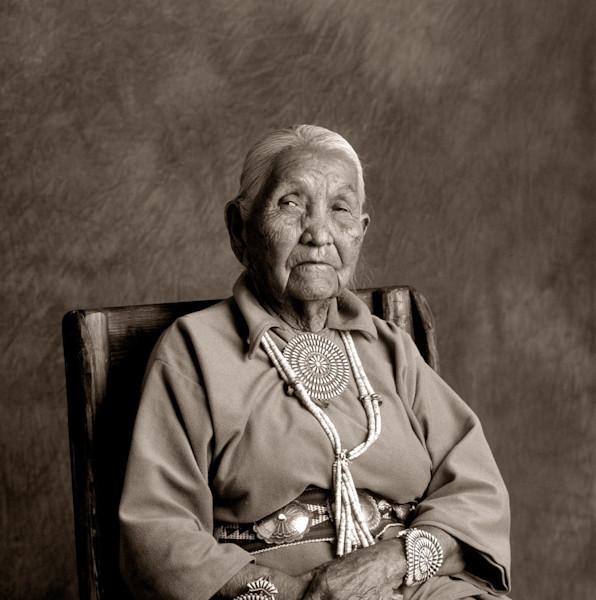 Navajo Portrait Clara Buckinghorse