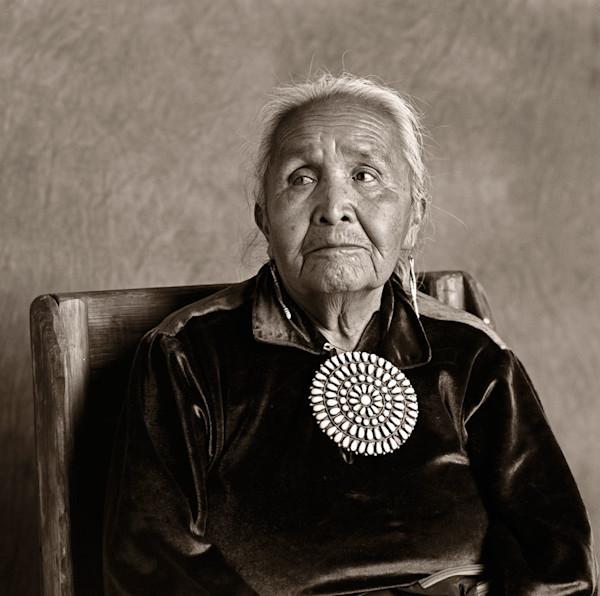 Navajo Portrait Navajo Woman 7