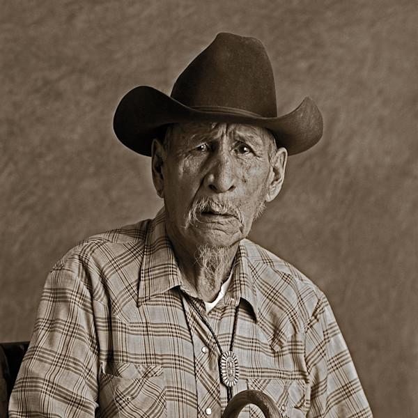 Navajo Portrait Billy Jumbo Code Talker