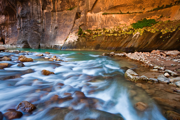 Emerald Narrows in Zion National Park