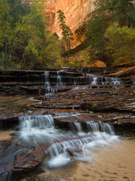 Arch Angel Falls in Zion National Park