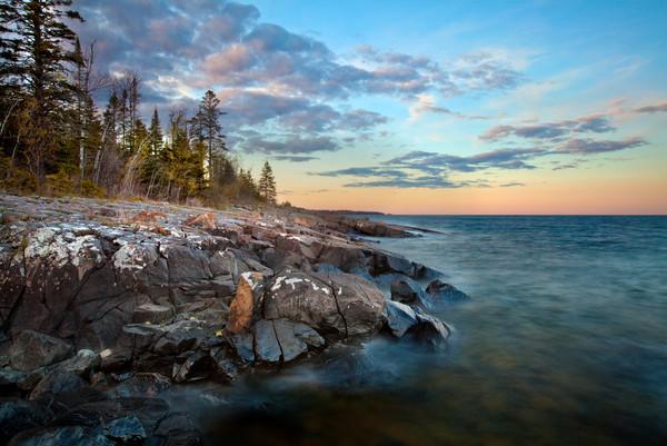 Stoney Point along Lake Superior
