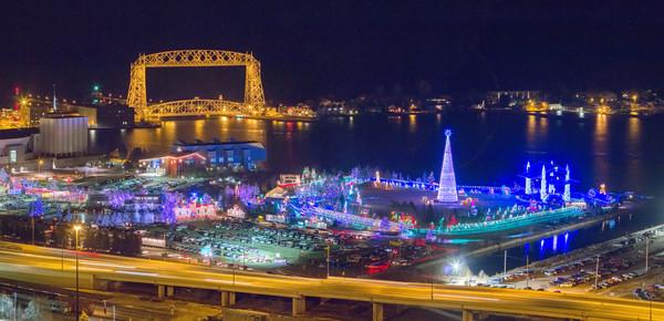 Duluth's Bentleyville Tour of Lights