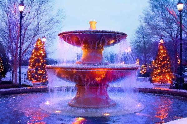 Holiday Fountain
