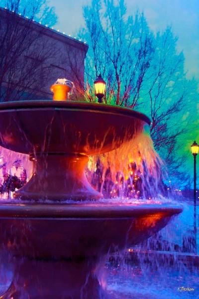 Holiday Fountain 2