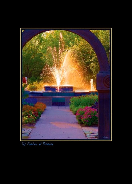 The Fountain at Botanica