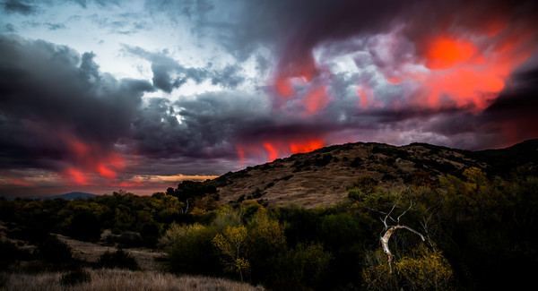 Fire In The Sky Photograph For Sale as Fine Art