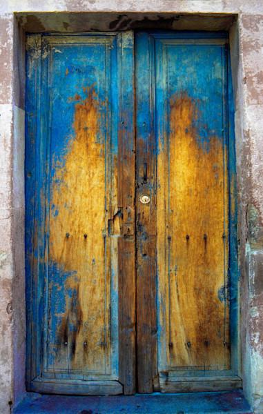 Blue-door-San Miguel De Allende Mex