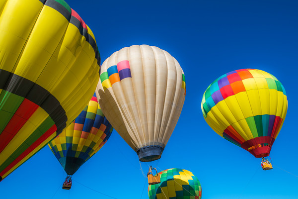 Colored Balloons Photograph For Sale as Fine Art