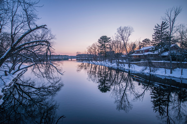 Snowy River Photograph For Sale as Fine Art
