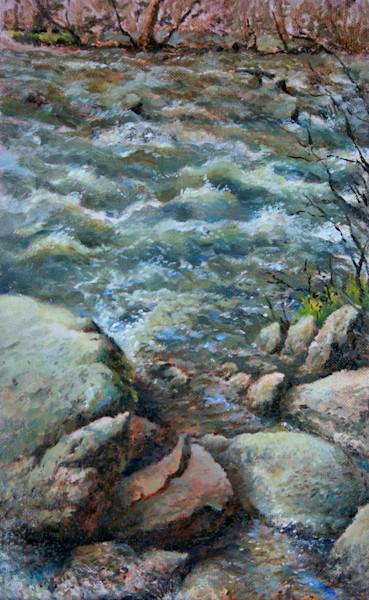 French Broad Rapids - Fine Art Print