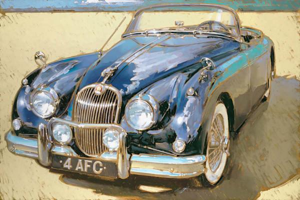 Classic auto art