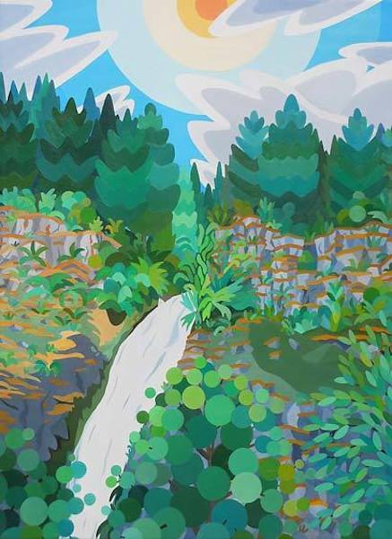 Falls Amongst the Trees, Oregon