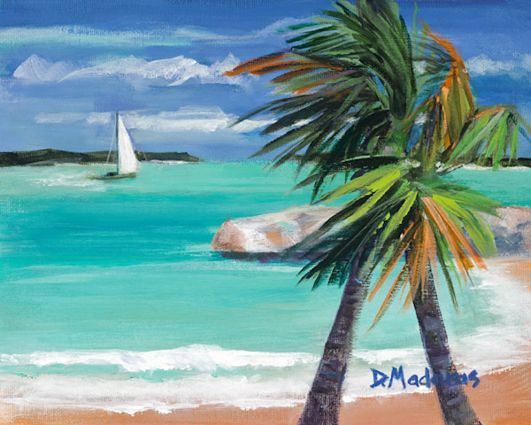 Water Paintings & Tropical Paintings | Madaras Gallery