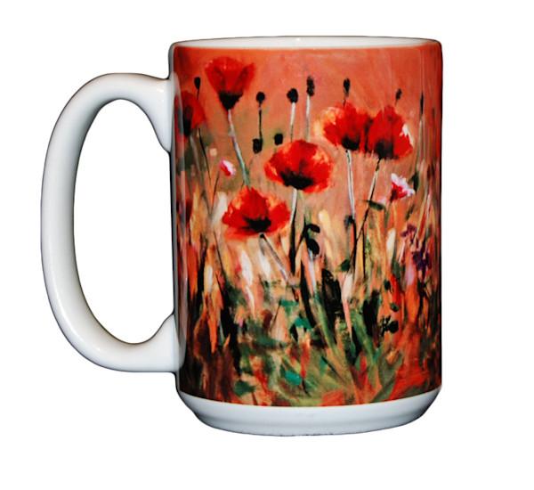 Poppies - 15 oz. Mug