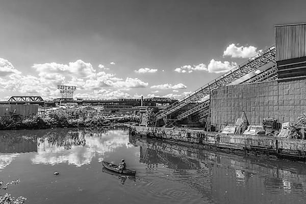 Rower on the Gowanus Canal II
