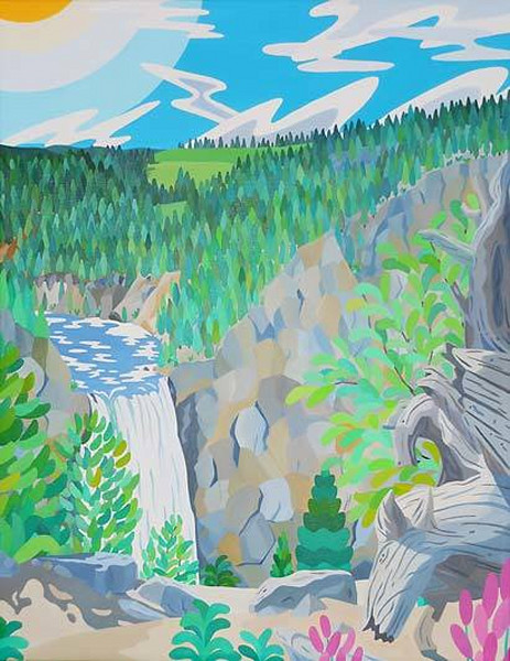 Reshaping Yellowstone Falls