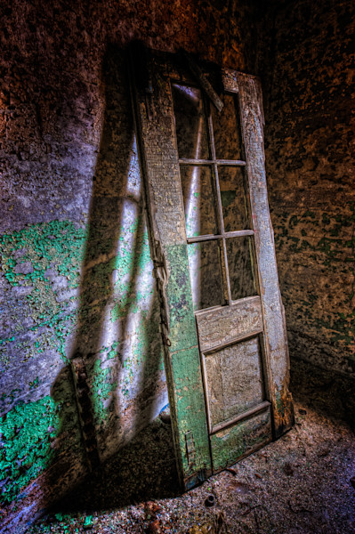 Door and Shadow Fine Art Photograph | JustBob Images