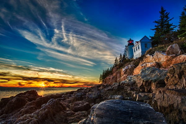 Bass Harbor Lighthouse Fine Art Photograph | JustBob Images