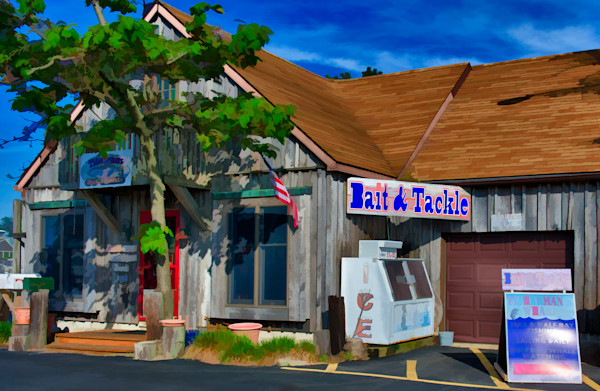 Bait Shop Fine Art Photograph | JustBob Images