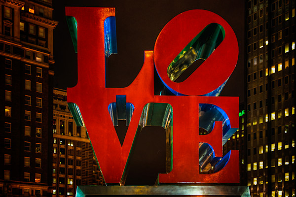 Love Park Fine Art Photograph by Robert Lott