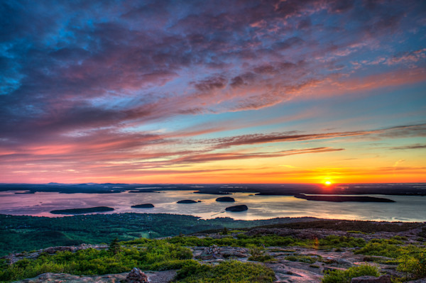 Acadia Sunrise Fine Art Photograph | JustBob Images