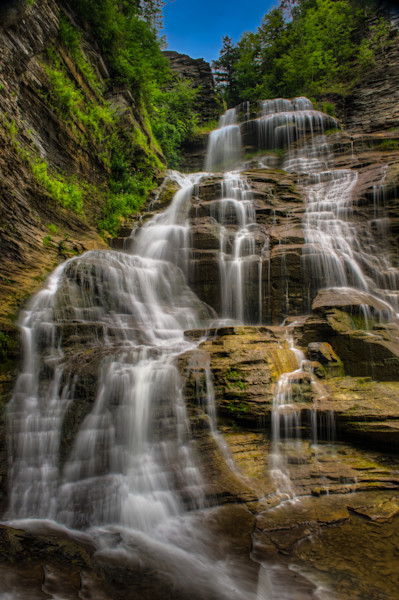 Lucifer Falls Fine Art Photograph | JustBob Images