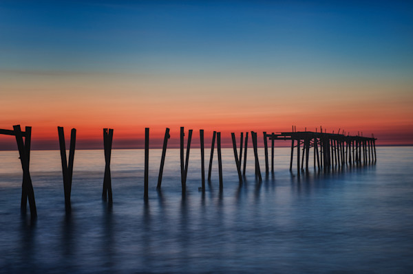 59th Street Pier at Sunrise Fine Art Photograph | JustBob Images