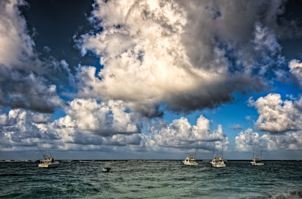 Clouds and Sea Fine Art Photograph by Robert Lott