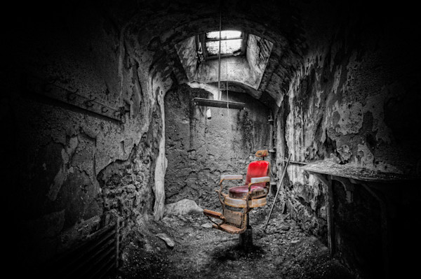 Barber Chair Fine Art Photograph | JustBob Images