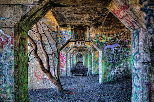 Graffiti Underground Photograph for Sale as Fine Art
