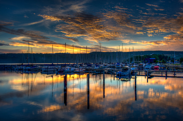 Seneca Lake Sunrise Fine Art Photograph | JustBob Images