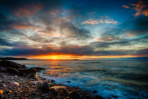 Sunrise on Boulder Beach Fine Art Photograph | JustBob Images