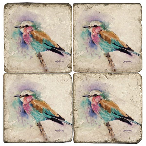Jim's Bird Coaster Set