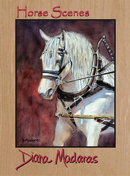 Horse Scenes Note Cards