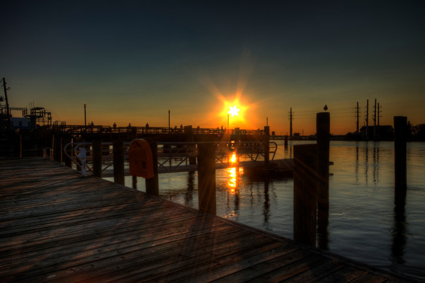 Fine Art Photograph of a Chincoteague Sunset by Michael Pucciarelli