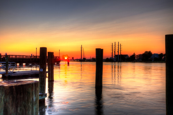 A Fine Art Photograph of Chincoteague Shores by Michael Pucciarelli