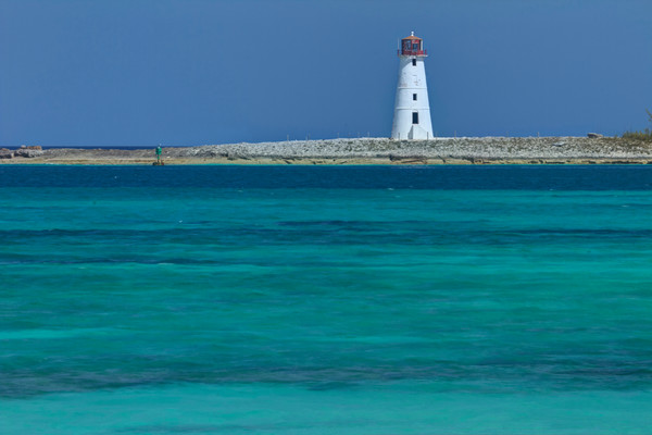 Fine Art Photograph of Nassau Lighthouse by Michael Pucciarelli