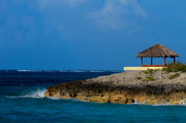 Fine Art Photograph of Lonely Gazebo in Nassau by Michael Pucciarelli