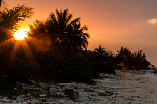Fine Art Photograph of a Nassau Sunset by Michael Pucciarelli