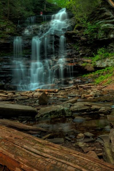 Fine Art Photographs of Ricketts Glen Waterfalls by Michael Pucciarelli
