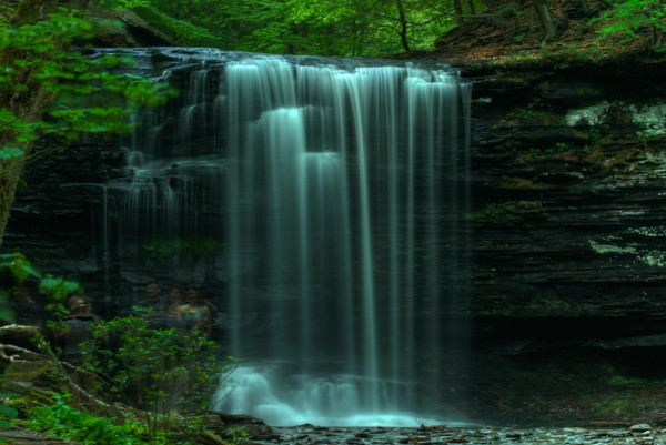 The Fine Art Photographs of Ricketts Glen Waterfalls by Michael Pucciarelli