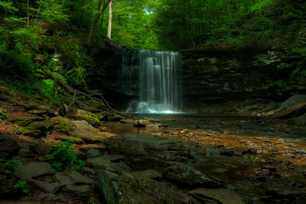 The Fine Art Photographs of Ricketts Glen Falls by Michael Pucciarelli