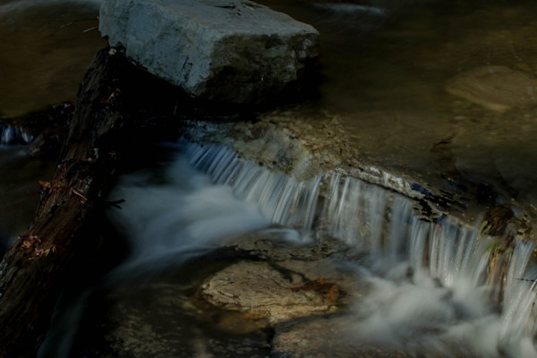A Fine Art Photograph White Oak Canyon Falls in Shenandoah by Michael Pucciarelli