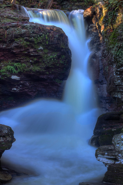 Fine Art Photographs of Ricketts Glen Waterfalls by Michael Pucciarelli